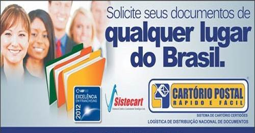 Franquia Cartório Postal